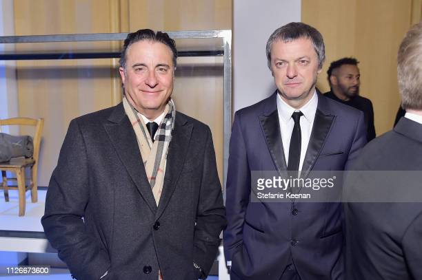 Andy Garcia and guest attend the UCLA IoES honors Barbra Streisand and Gisele Bundchen at the 2019 Hollywood for Science Gala on February 21 2019 in...