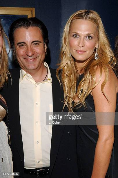 Andy Garcia and Molly Sims during Molly Sims Hosts the 3rd Annual Night with the Friends of El Faro Benefit at Henry Fonda Theatre in Los Angeles...