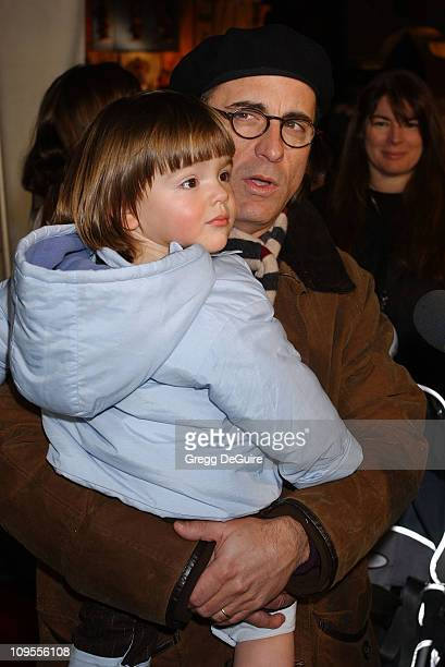 Andy Garcia and son Andres during 'Snow White An Enchanting New Musical' Premiere Arrivals at Fantasyland Theatre at Disneyland in Anaheim California...