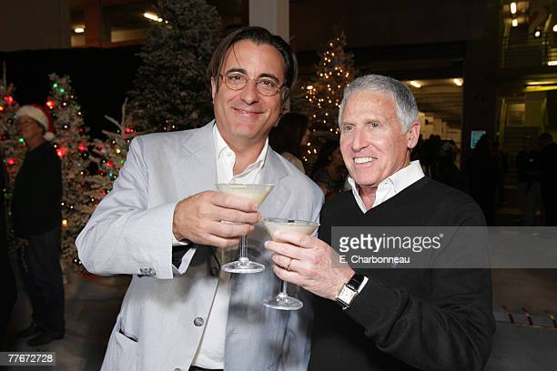 Andy Garcia and Warner's Dan Fellman at the Premiere of Warner Bros 'FRED CLAUS' at Grauman's Chinese Theatre on November 3 2007 in Los Angeles...