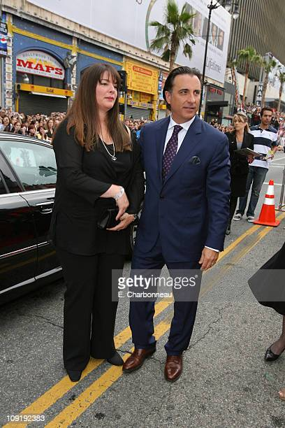 Andy Garcia and wife Marivi during Warner Bros Pictures Village Roadshow Pictures Jerry Weintraub and Section 8 Productions Host the North American...