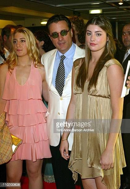 Andy Garcia Andy Garcia with his daughters Daniella and Dominique