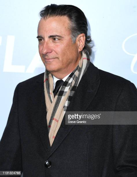 Andy Garcia arrives at the Hollywood For Science Gala at Private Residence on February 21 2019 in Los Angeles California