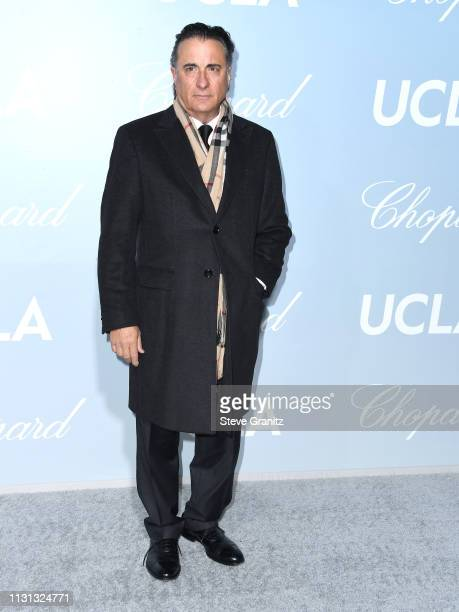 Andy Garcia arrives at the Hollywood For Science Gala at Private Residence on February 21, 2019 in Los Angeles, California.