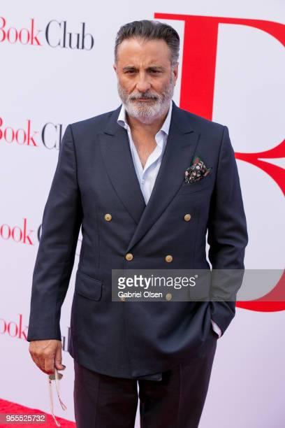 Andy Garcia arrives for Paramount Pictures' premiere of Book Club at Regency Village Theatre on May 6 2018 in Westwood California