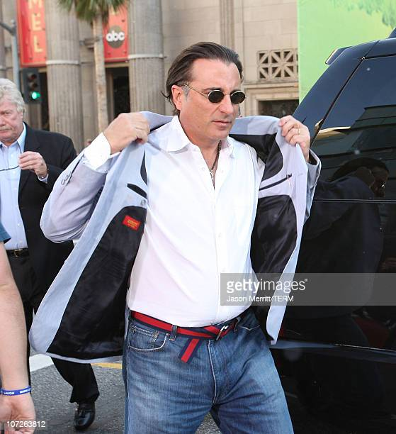 Andy Garcia at the Premiere of Warner Bros 'FRED CLAUS' at Grauman's Chinese Theatre on November 3 2007 in Los Angeles California