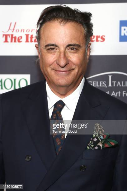 Andy Garcia attends the 14th Annual Los Angeles Italia Film Fashion And Art Fest Opening Night Gala at TCL Chinese 6 Theatres on February 17 2019 in...