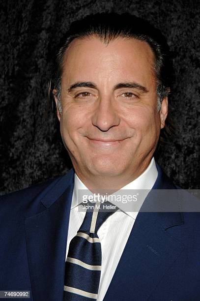 Andy Garcia attends the 34th annual Vision Awards presented by Retinitis Pigmentosa International on June 16 2007 at the Beverly Hilton Hotel in...