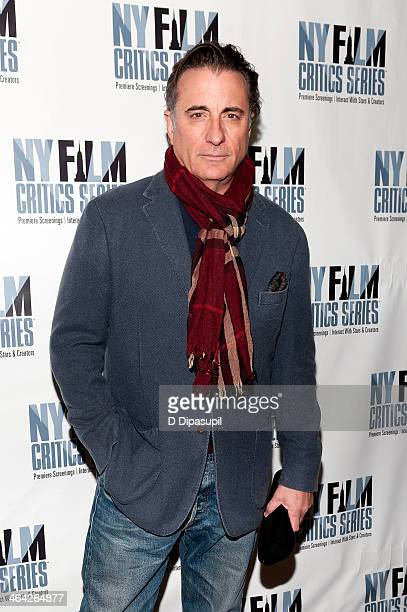 Andy Garcia attends the At Middleton screening presented by the New York Film Critics Series at AMC Empire 25 theater on January 21 2014 in New York...