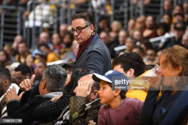 Andy Garcia attends the game between the Chicago Bulls and the Los Angeles Lakers on January 15 2019 at STAPLES Center in Los Angeles California NOTE...