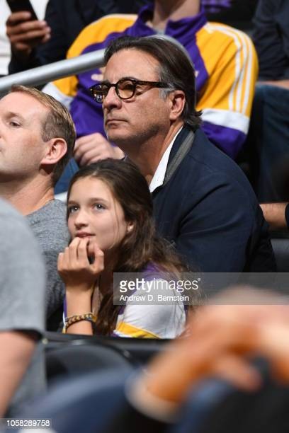 Andy Garcia attends the game between the Los Angeles Lakers and Toronto Raptors on November 4 2018 at Staples Center in Los Angeles California NOTE...