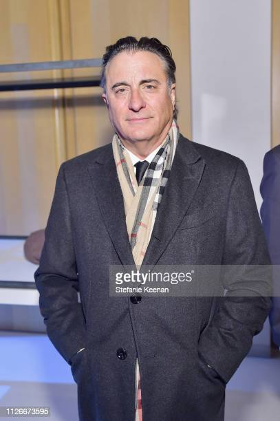 Andy Garcia attends the UCLA IoES honors Barbra Streisand and Gisele Bundchen at the 2019 Hollywood for Science Gala on February 21 2019 in Beverly...