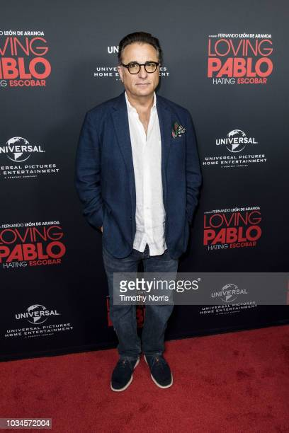 """Andy Garcia attends Universal Pictures Home Entertainment Content Group's """"Loving Pablo"""" special screening at The London West Hollywood on September..."""