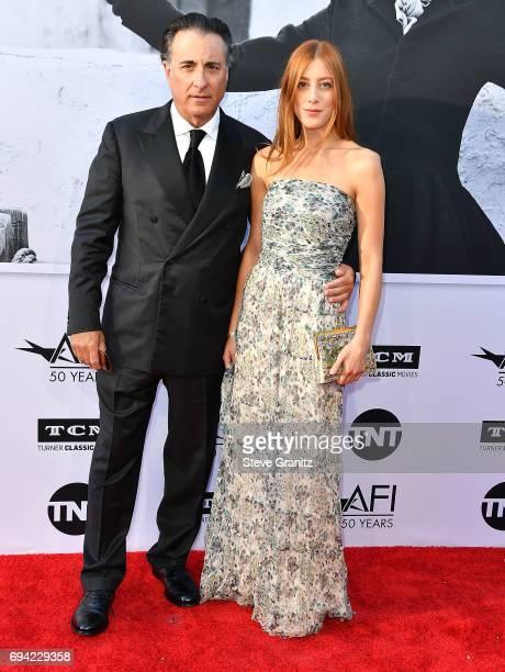 Andy Garcia Daniella GarciaLorido arrives at the AFI Life Achievement Award Gala Tribute To Diane Keaton on June 8 2017 in Hollywood California