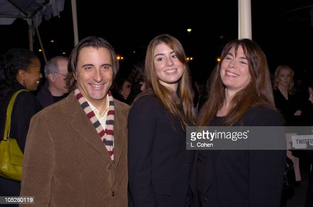Andy Garcia daughter Dominic GarciaLorido and wife Marivi LoridoGarcia