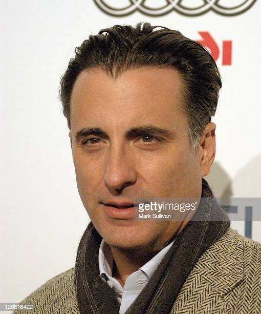 Andy Garcia during AFI Fest 2005 'The Lost City' Screening Arrivals at ArcLight Hollywood in Hollywood California United States
