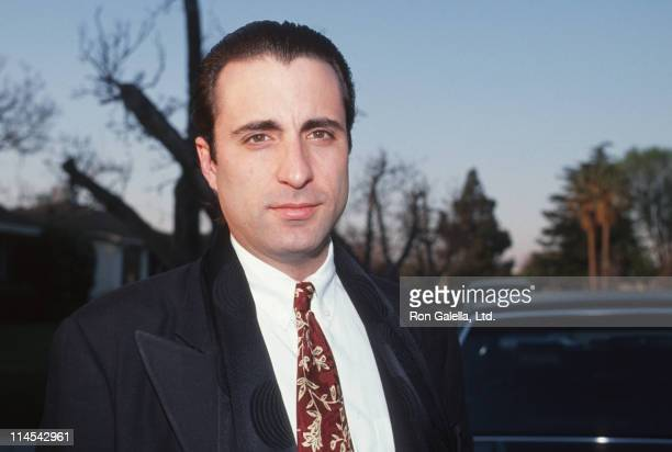 Andy Garcia during Andy Garcia sighting at his Beverly Hills home at Andy Garcia's Beverly Hills Home in Beverly Hills California United States