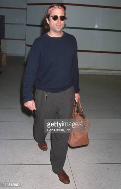 Andy Garcia during Andy Garcia sighting at Los Angeles International Airport February 13 1993 at Los Angeles International Airport in Los Angeles...