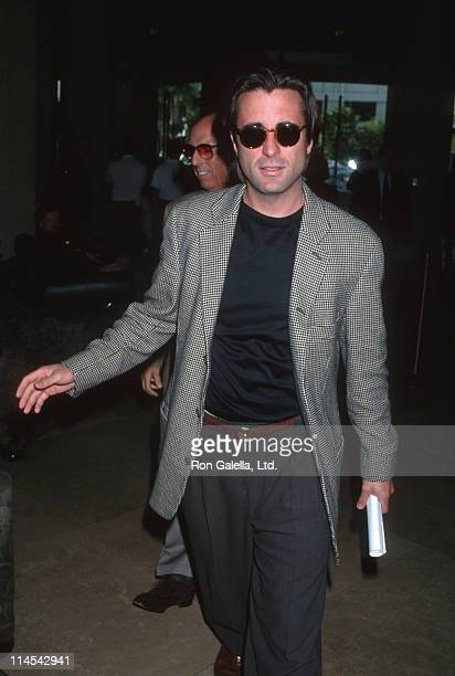 Andy Garcia during Hollywood Foreign Press Conference November 11 1992 at Beverly Hilton Hotel in Beverly Hills California United States