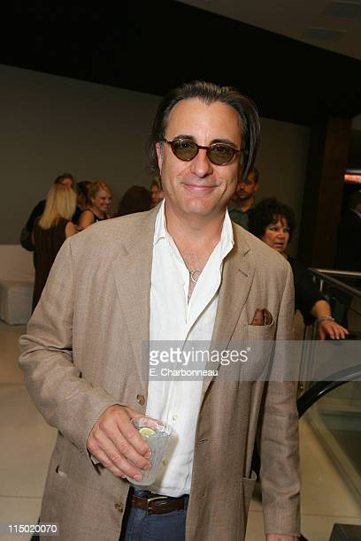 Andy Garcia during Opening of The Landmark Theaters at The Landmark Theater in Westwood California United States