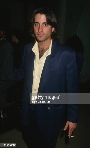 Andy Garcia during 'Stand and Deliver' Hollywood Premiere February 26 1988 at Mann Chinese Theater in Hollywood California United States