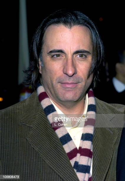 Andy Garcia during 'Twisted' World Premiere Red Carpet at Paramount Pictures in Los Angeles California United States