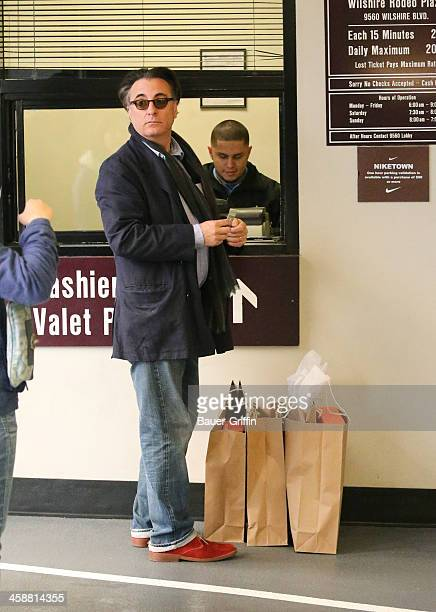Andy Garcia is seen on December 21 2013 in Los Angeles California
