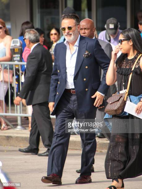 Andy Garcia is seen outside 'Book Club' Premiere at Regency Village Theatre on May 06 2018 in Los Angeles California