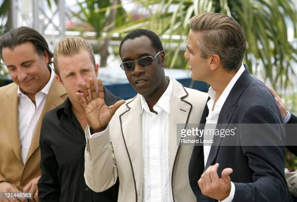 Andy Garcia Scott Caan Don Cheadle and George Clooney