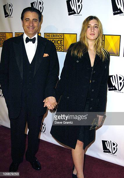 Andy Garcia with daughter Daniella during 10th Annual Critics' Choice Awards Arrivals at Wiltern LG Theatre in Los Angeles California United States