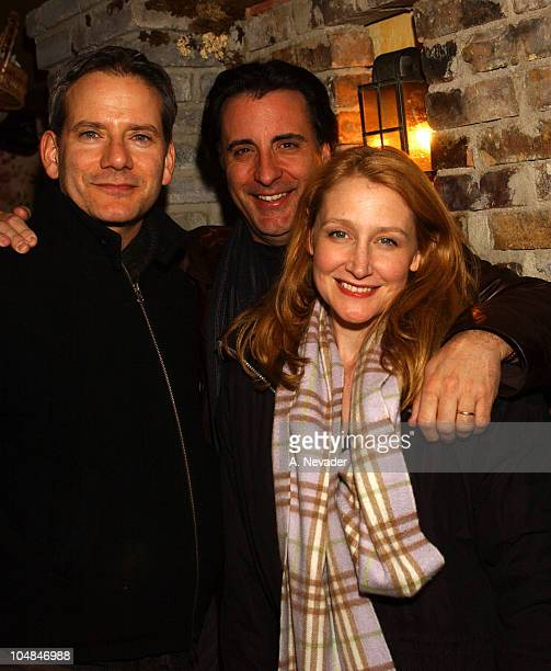 Andy Garcia with Patricia Clarkson and Campbell Scott
