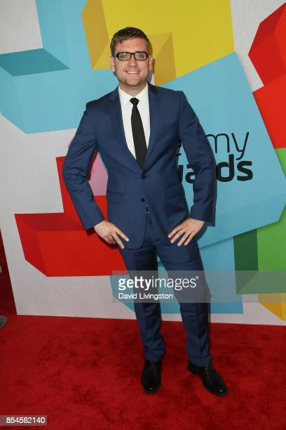 Andy George attends the 7th Annual 2017 Streamy Awards at The Beverly Hilton Hotel on September 26 2017 in Beverly Hills California