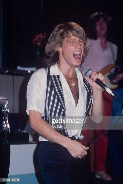Andy Gibb of The Bee Gees in performance circa 1970 New York