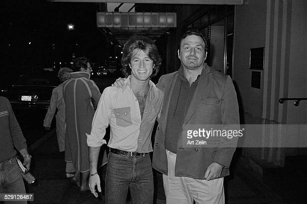 Andy Gibb outside Zenon disco circa 1970 New York