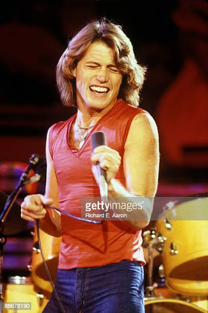 Andy Gibb performs on stage at the UNICEF A Gift of Song concert held at the United Nations General Assembly on January 9th 1979 in New York