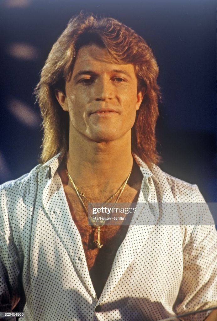Andy Gibb The Youngest Of The Gibb Brothers Appears On A German Tv Show On August