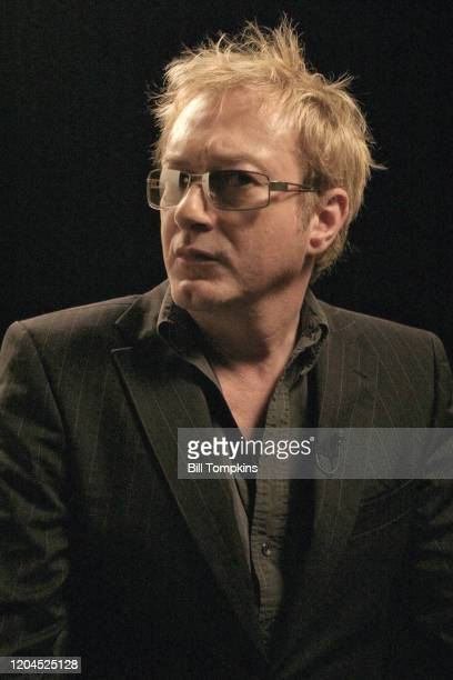 Andy Gill lead guitarist for Gang of Four photographed in New York City September 15 2005 in New York City