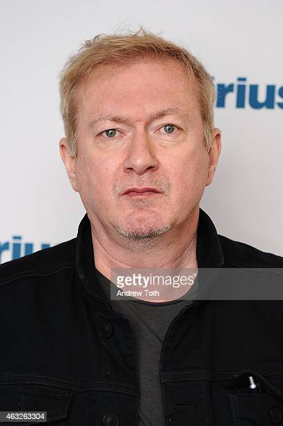 Andy Gill of band Gang of Four visits SiriusXM Studios on February 12 2015 in New York City