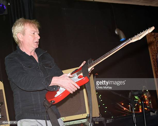 Andy Gill of Gang Of Four performs at 40 Watt Club on October 26 2015 in Athens Georgia