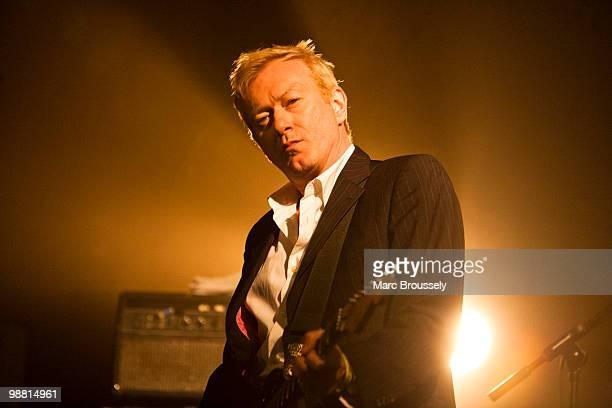Andy Gill of Gang Of Four performs at the Electric Ballroom during day two of The Camden Crawl on May 2 2010 in London England