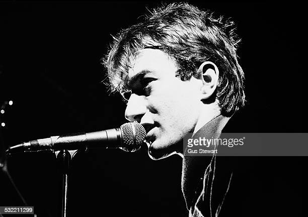 Andy Gill of Gang Of Four performs on stage in London 1978