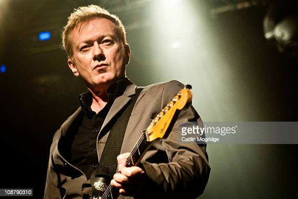 Andy Gill of Gang Of Four performs Shockwaves NME Award Show at Heaven on February 2 2011 in London England