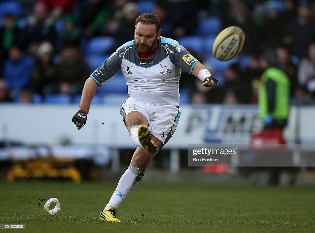 London Irish v Newcastle Falcons - Aviva Premiership : News Photo
