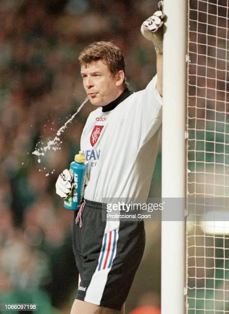Andy Goram of Glasgow Rangers circa 1996