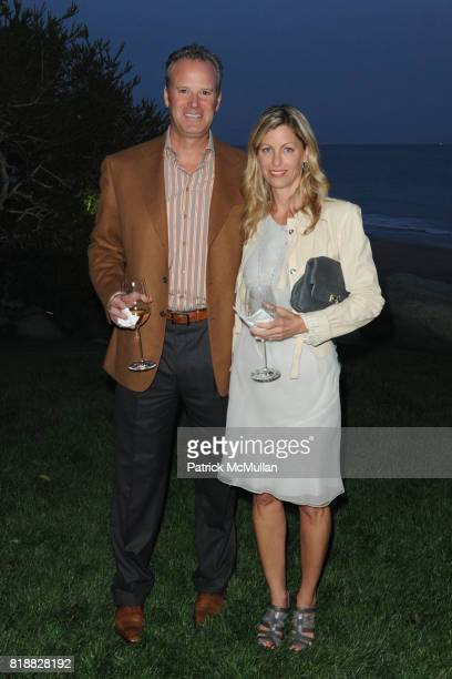 Andy Gordon and Amy Gordon attend The 25th Annual LACMA Collectors Committee Weekend An Intimate Dinner at the Home of Jamie McCourt at Private...