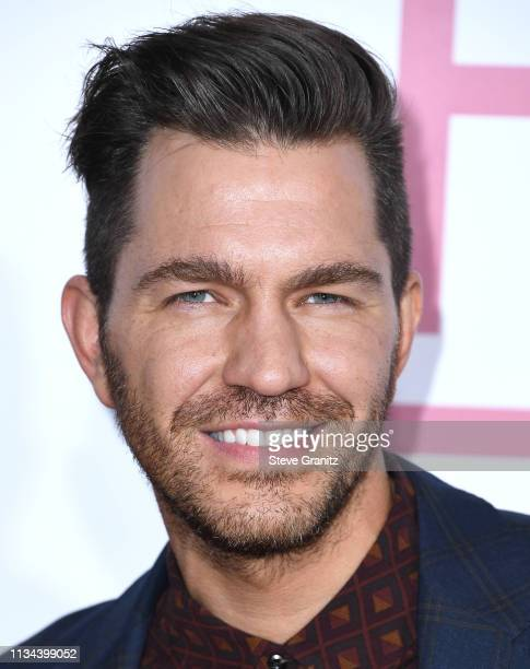 Andy Grammer arrives at the Premiere Of Lionsgate's 'Five Feet Apart' at Fox Bruin Theatre on March 07 2019 in Los Angeles California