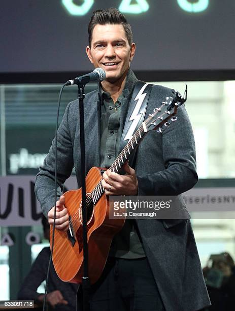 Andy Grammer attends Build Series Presents to discuss his new single 'Fresh Eyes' at Build Studio on January 30 2017 in New York City