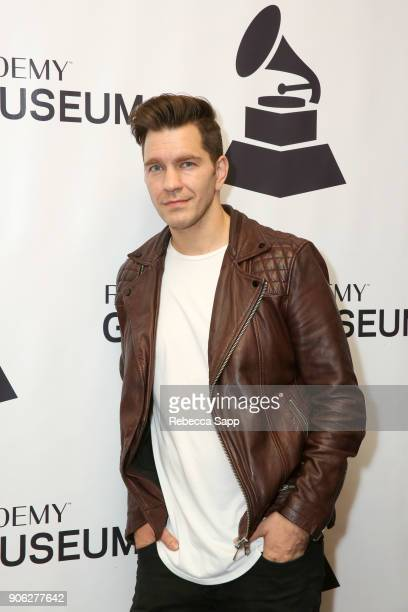 Andy Grammer attends The Drop Andy Grammer at The GRAMMY Museum on January 17 2018 in Los Angeles California