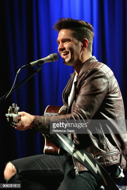 Andy Grammer performs at The Drop Andy Grammer at The GRAMMY Museum on January 17 2018 in Los Angeles California