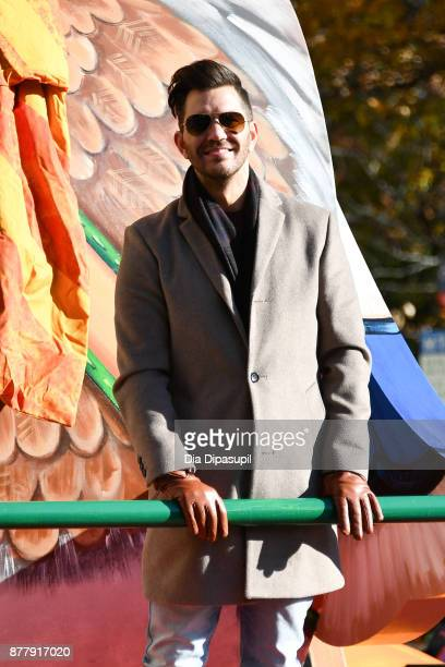 Andy Grammer rides in the 91st Annual Macy's Thanksgiving Day Parade on November 23 2017 in New York City